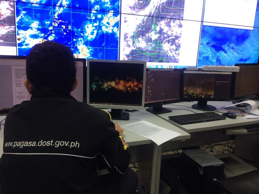 PAGASA DOST Headquarters in Quezon City (Photo courtesy of panahon.tv)