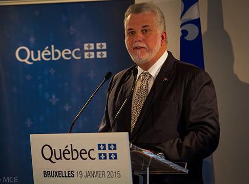 Quebec Premier Philippe Couillard (Patrick Lachance MCE / Philippe Couillard's Facebook photo)
