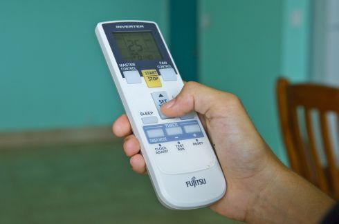 Airconditioner remote controller (Photo courtesy of powersavvy.com.au)