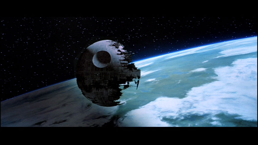 Death Star from 'Star Wars' (Photo courtesy of TheForce.net)