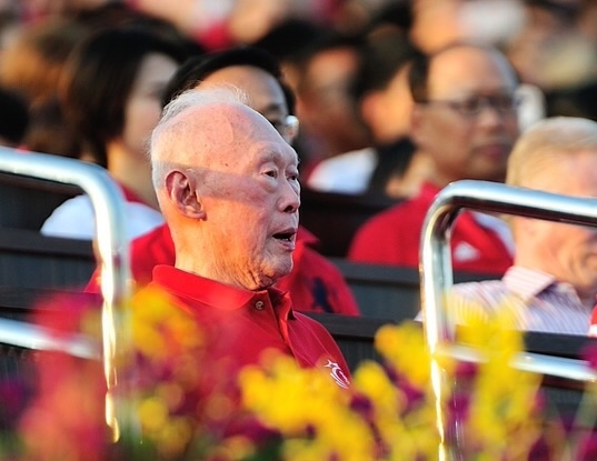 Lee Kuan Yew in 2012 (Jordan Tan / Shutterstock)