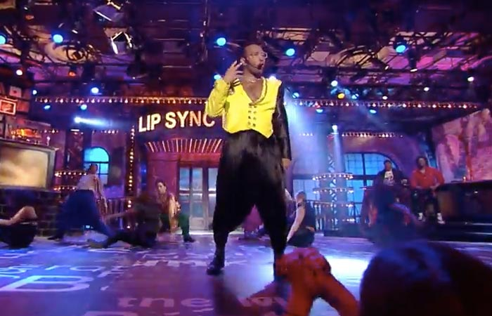John Legend drops some major MC Hammer time beats on 'Lip Sync Battle.' (YouTube screenshot)