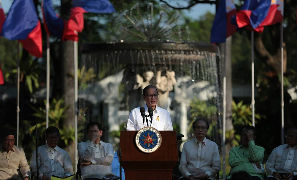 On March 9, 2015, President Benigno S. Aquino III hosted a prayer gathering with Christian groups in Malacañan Palace. (Malacañang Photo Bureau)