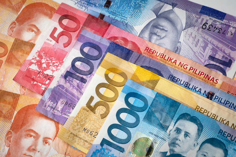 On Monday Philippine Peso Continues To Depreciate Against A U S Dollar Closing The Day At 54 23 From 04 Close Last Friday