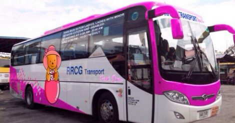 Pink Bus (LTFRB photo)
