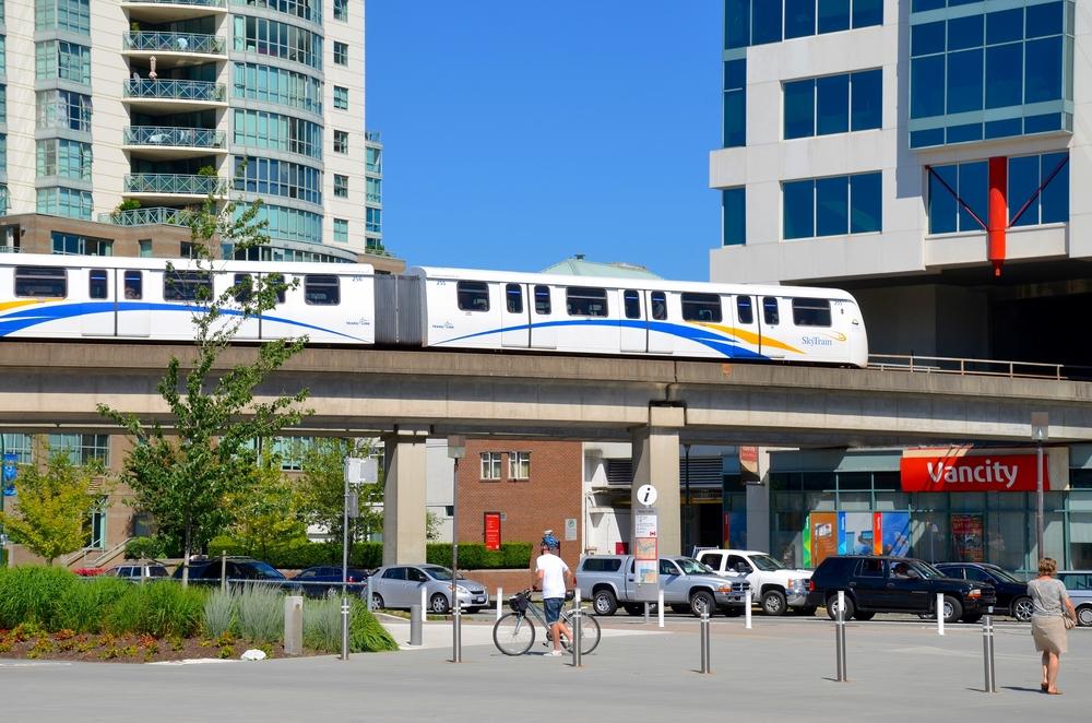 Downtown Vancouver Skytrain Transportation (Lissandra Melo / Shutterstock)