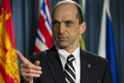 Public Safety Minister Steven Blaney (Photo courtesy of Montreal Media Coop)