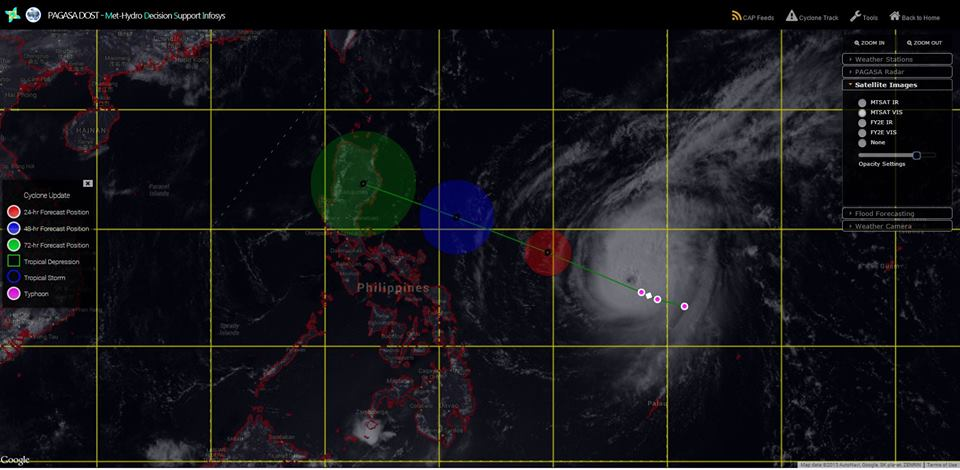 #ChedengPH via Met-Hydro Decision Support Infosys (MDSI)