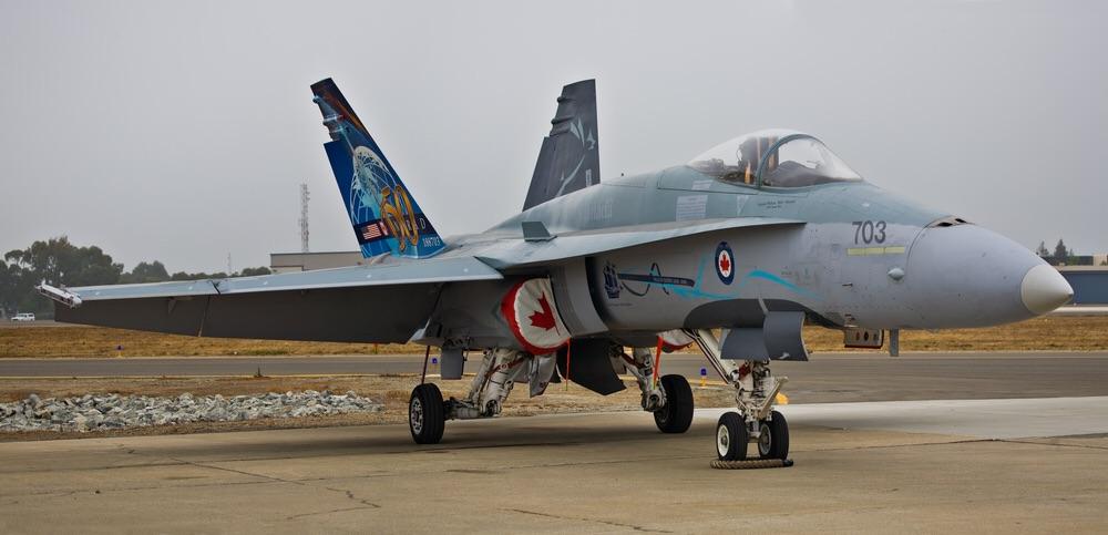 Canadian Air Force CF-18 (Eugene Berman / Shutterstock)