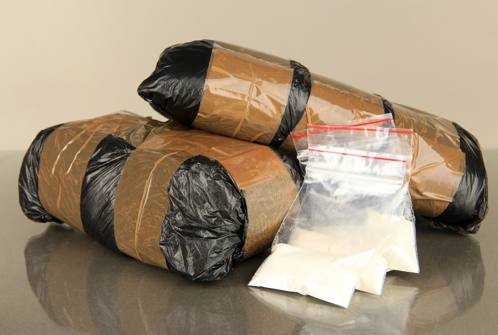 FILE: Smuggled illegal drugs (Wikimedia Commons)