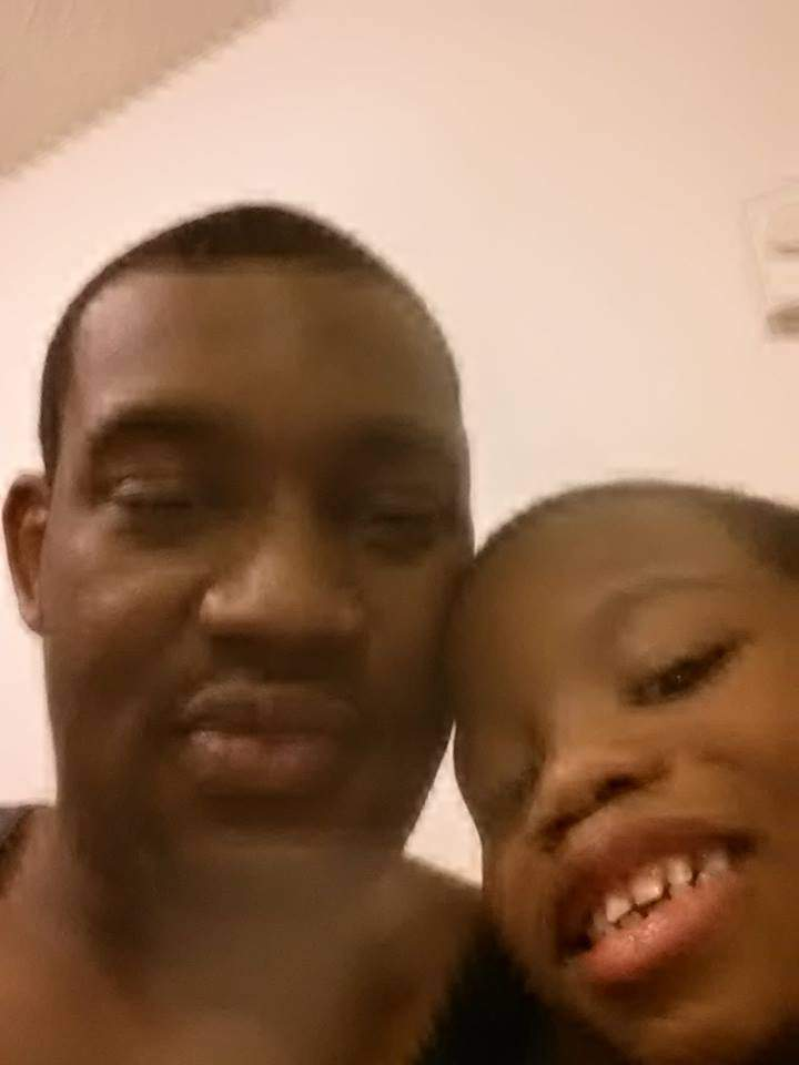 Rodney Todd with son Zycheim (Facebook photo)