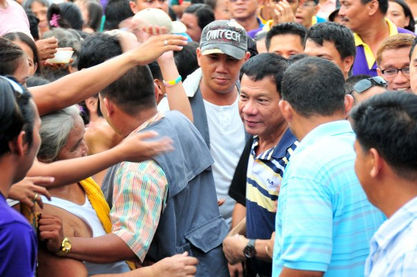 "Davao City Mayor Rodrigo ""Rody"" Duterte (Photo from Duterte's official Facebook page)"