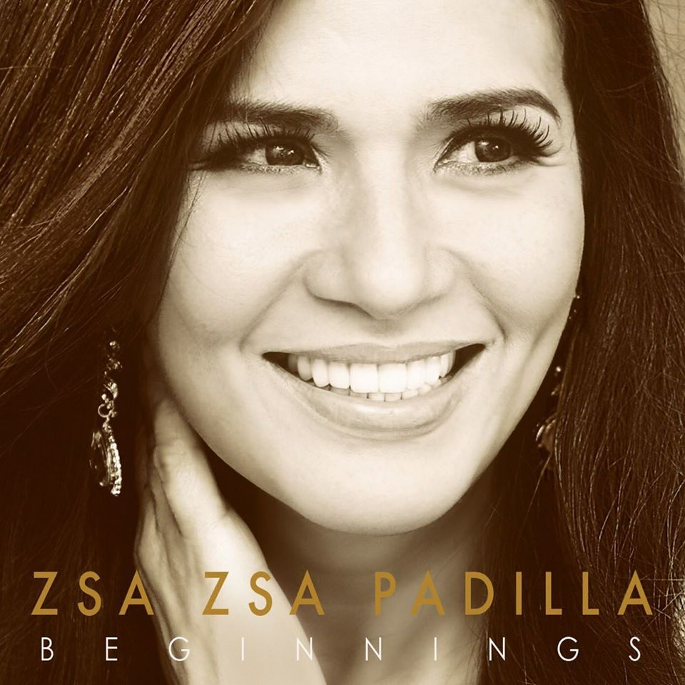 "Zsa Zsa Padilla's album cover for her latest album ""Beginnings"" (Photo from Zsa Zsa's official Facebook account)"