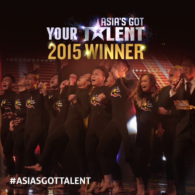 El Gamma Penumbra is Asia's Got Talent 's first-ever grand champion. (Photo courtesy of Asia's Got Talent)