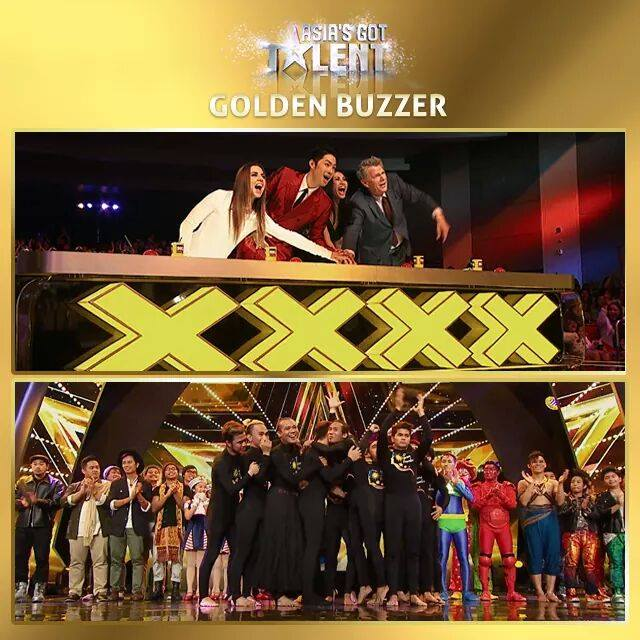 Asia's Got Talent contender Filipino shadow play group El Gamma Penumbra gets their second golden buzzer, advancing them to the competition's grand finals. (Photo from El Gamma Penumbra's Facebook Page)