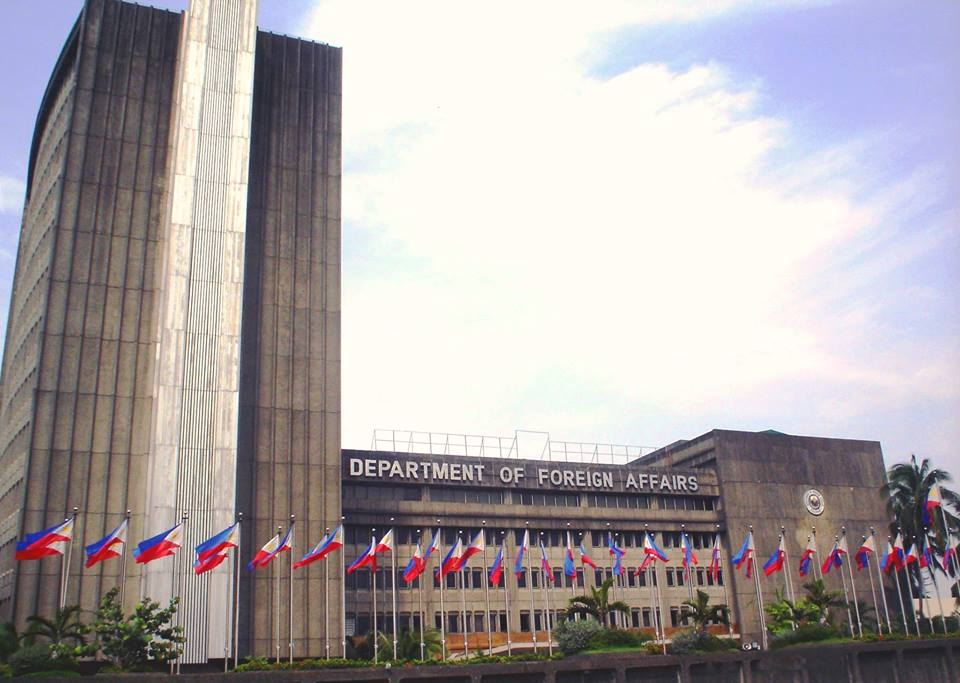 The Department of Foreign Affairs (Photo from DFA's official Facebook page)
