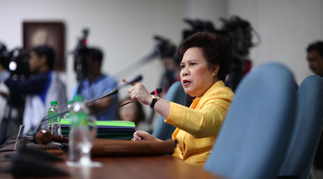Senator Miriam Defensor-Santiago (Photo from the senator's website)