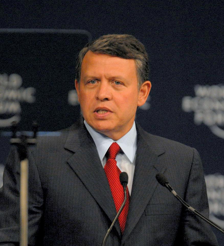 King Abdullah II of Jordan (Wikipedia photo)