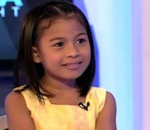 Screengrab from Lyca's interview in Aquino & Abunda Tonight.
