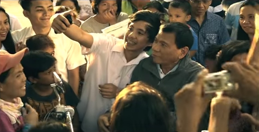 """Davao City Mayor Rodrigo """"Rody"""" Duterte (Photo screengrab from YouTube)"""