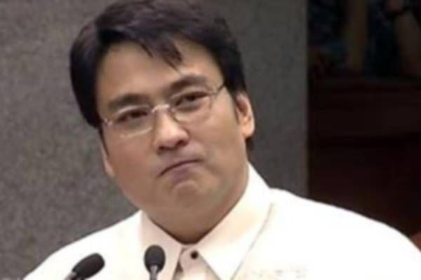 Sen. Ramon 'Bong' Revilla (screenshot from YouTube footage)