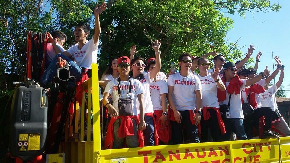 Asia's Got Talent champions El Gamma Penumbra receives a grand welcome from their hometown of Tanauan, Batangas (EGP Facebook page)