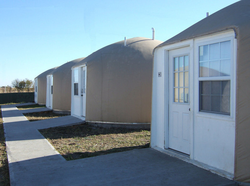 Monolithic dome homes (Photo courtesy of Dome Living)