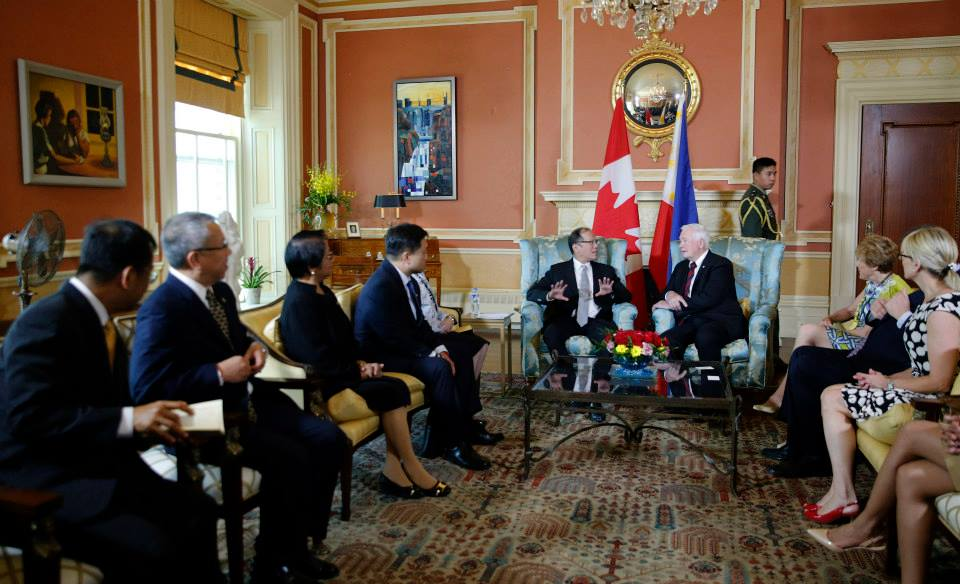 PNoy meets with Canadian leaders, May 7, 2015 (Photo by Gil Nartea / Malacañang Photo Bureau)