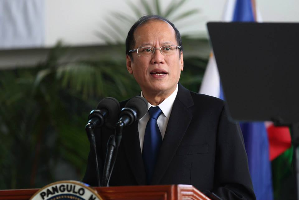 Photo taken during President Benigno Aquino III's departure ceremony at NAIA Terminal II in Pasay City, May 6, 2015 (Malacanang Photo Bureau)