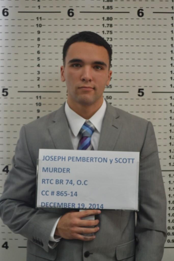 US Marine Lance Cpl. Joseph Scott Pemberton  mugshot (Photo courtesy of Olongapo City Police)