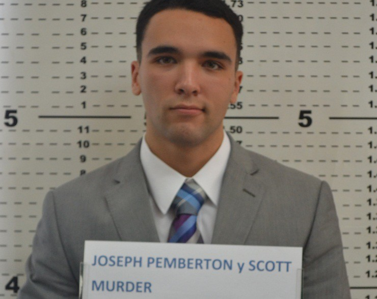 US Marine Lance Cpl. Joseph Scott Pemberton  mugshot (Photo courtesy of Olongapo City Police)