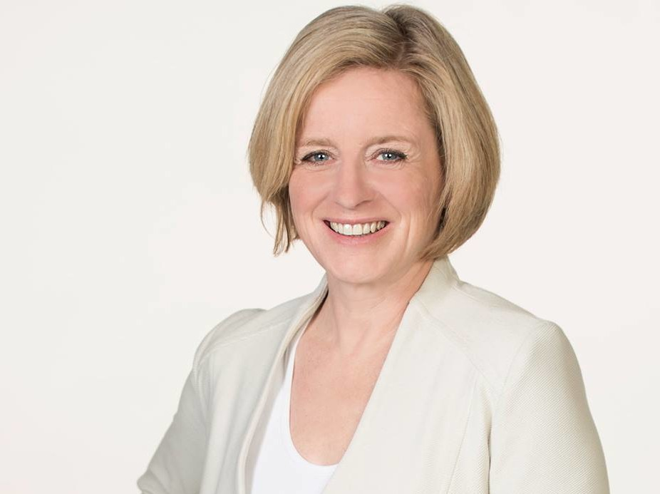 NDP Leader and Alberta premier Rachel Notley (Facebook photo)