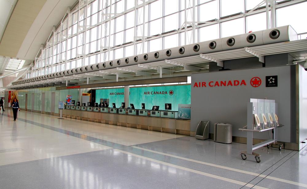 Air Canada (Shutterstock/ValeStock)