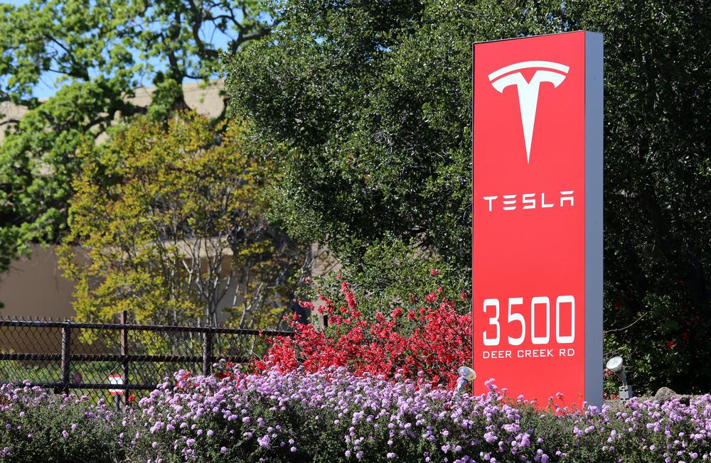 Tesla (Katherine Welles / Shutterstock)