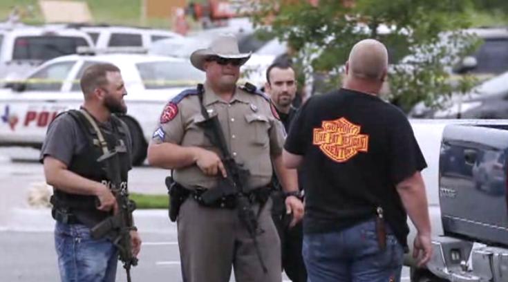 Rival biker gangs clash, 9 dead (screenshot from AP footage)