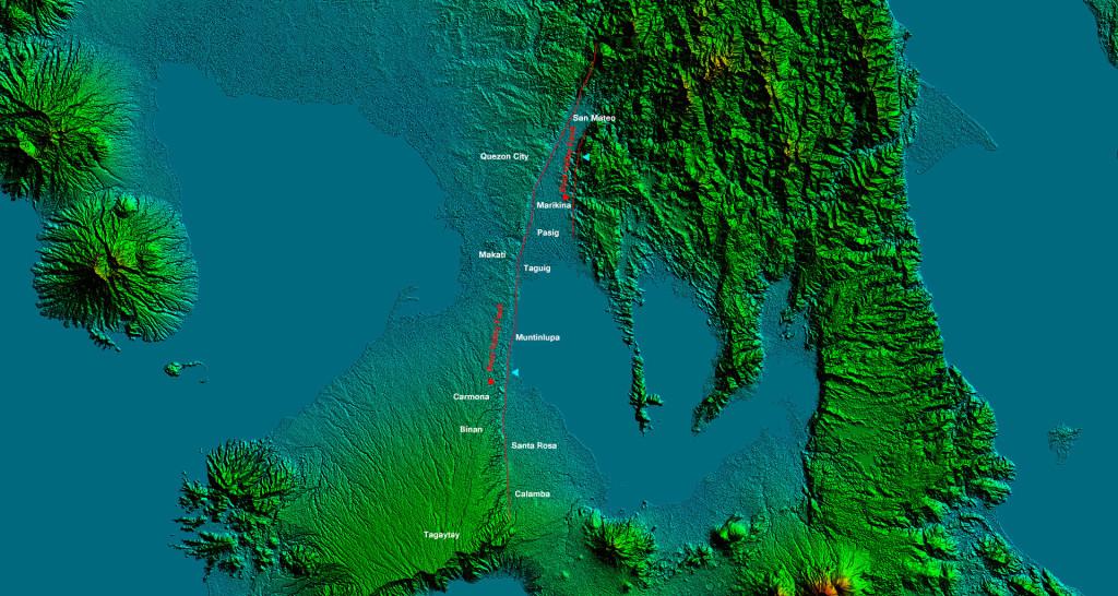 Marikina Valley Fault (Wikipedia)