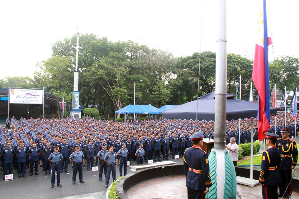 Philippine National Police (PNP) police force (Facebook photo)