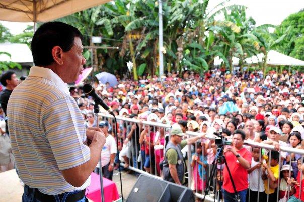"Davao City Mayor Rodrigo ""Rody"" Duterte (Facebook photo)"