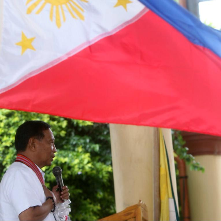 "Vice President Jejomar ""Jojo"" Binay (Photo from Binay's official Facebook page)"