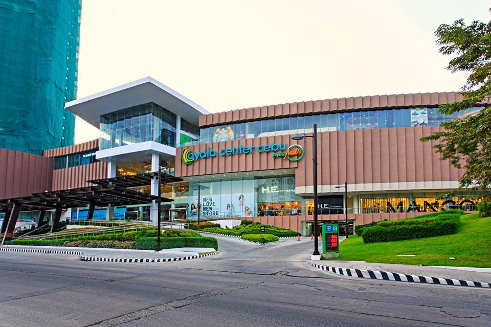 Ayala Center Cebu facade (Facebook photo)