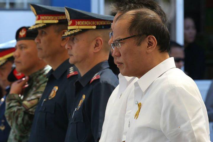 "President Benigno ""Noynoy"" Aquino III (right) (Photo by Ryan Lim/Malacañang Photo Bureau)"