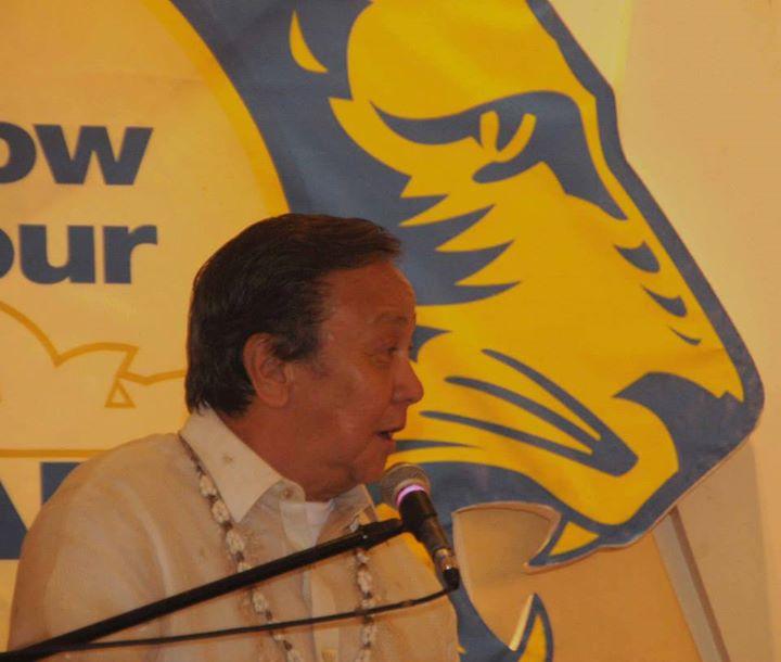 "Former Manila mayor and now Buhay party-list representative Jose ""Lito"" Atienza (Facebook photo)"