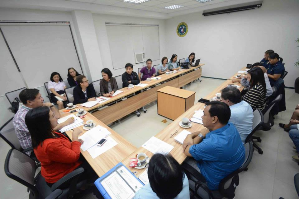 MERCOV Inter-Agency Task Force Meeting presided by DOH Sec. Garin (Photo from DOH's Facebook page)