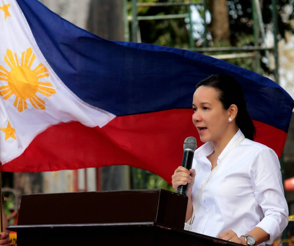 Senator Grace Poe (Photo from Poe's official Facebook page)
