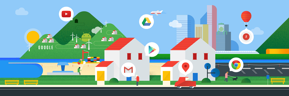 Google services (Photo from Google's official Facebook page)