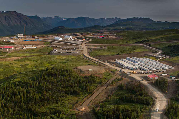Red Chris copper-gold mine in British Columbia (Photo courtesy of Imperial Metals)