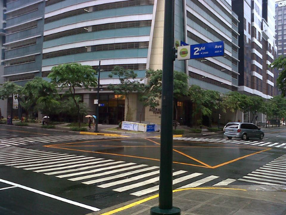 2nd avenue and 30th street at the Bonifacio Global City (BGC) (Photo courtesy of Foursquare)