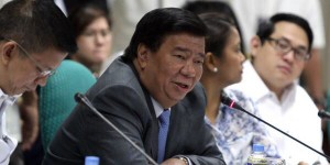 Senate President Franklin Drilon (Photo from Drilon's official Twitter account)