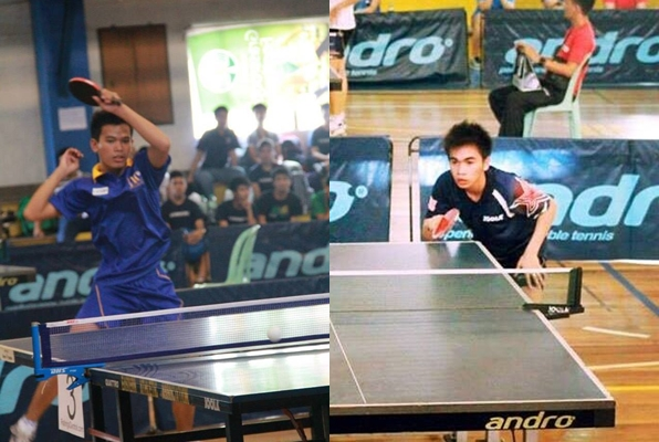 Cebuano paddlers Daniel Jay Tormis (left) and Val Stephen Jaca (right)  (Photos from Tormis and Jaca's official Facebook accounts)