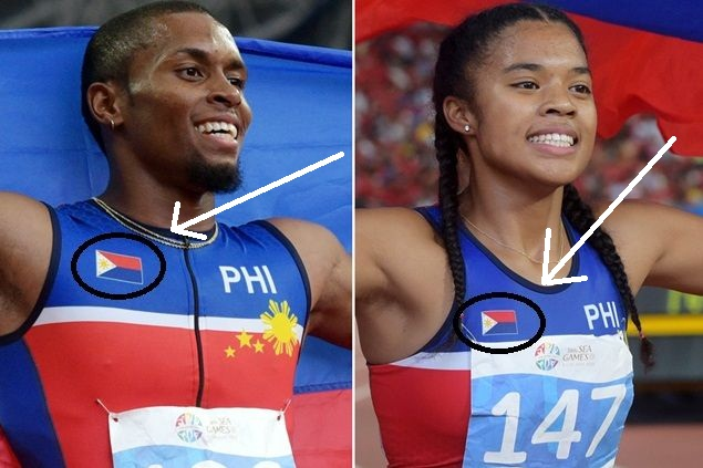 Filipino runners Eric Cray and Kayla Richardson win in 2015 SEA games (Photo from All About Juan)